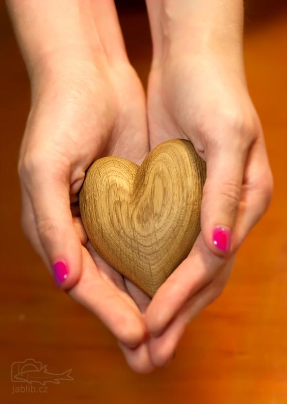 Srdce příjemně hřeje.