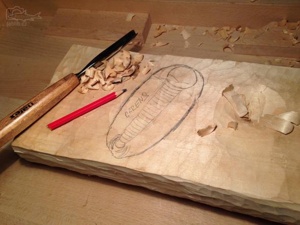 Rozvržení a určení v jaké pozici trilobiti zkamení :-)