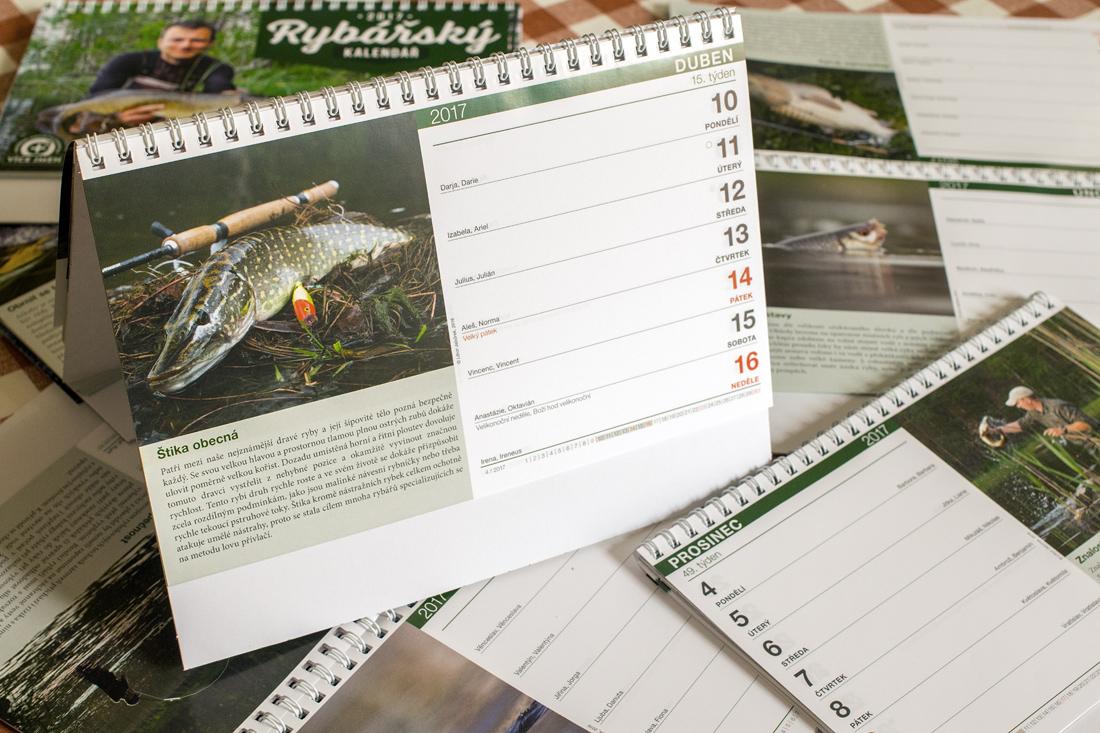 Rybářský kalendář 2017