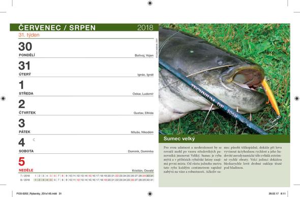 Rybářský Kalendář