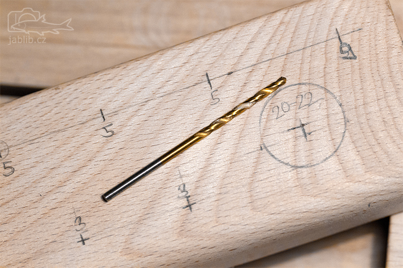 Materiál na výrobu - bukový práh